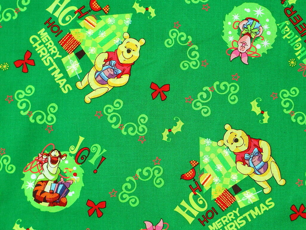 1 of 4 see more - Disney Christmas Fabric