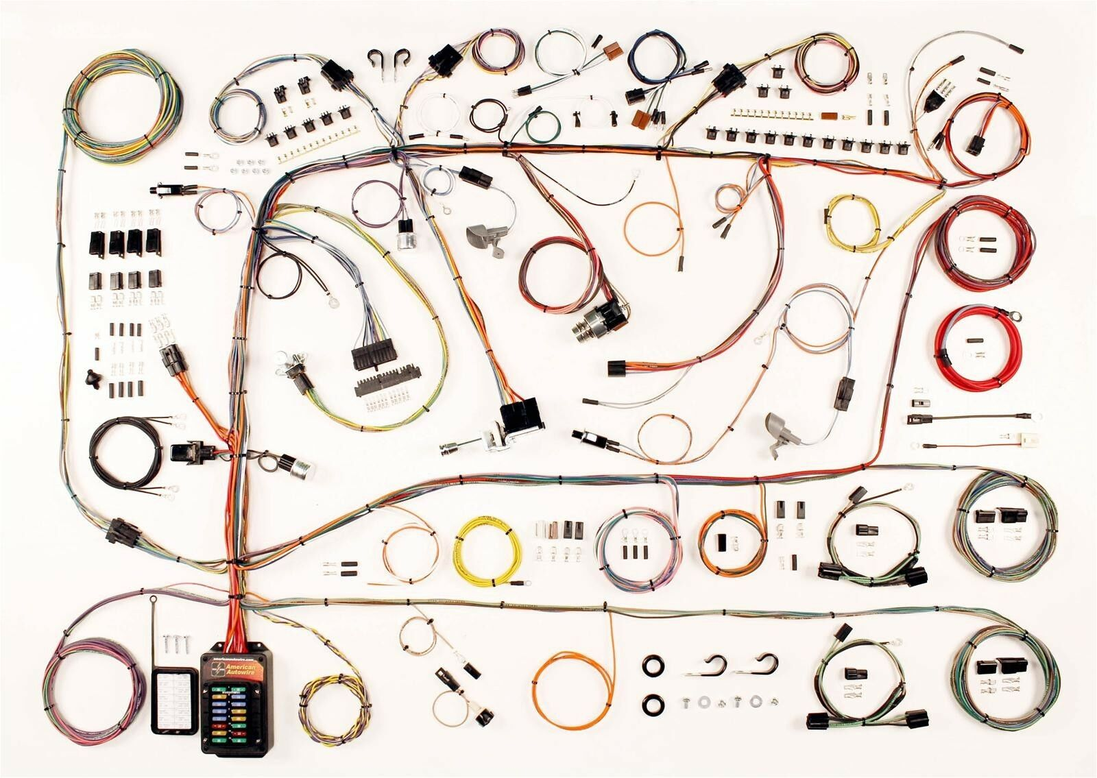60 64 Ford Galaxie Mercury Full Size American Autowire Wiring Auto Harness 1 Of 1only Available