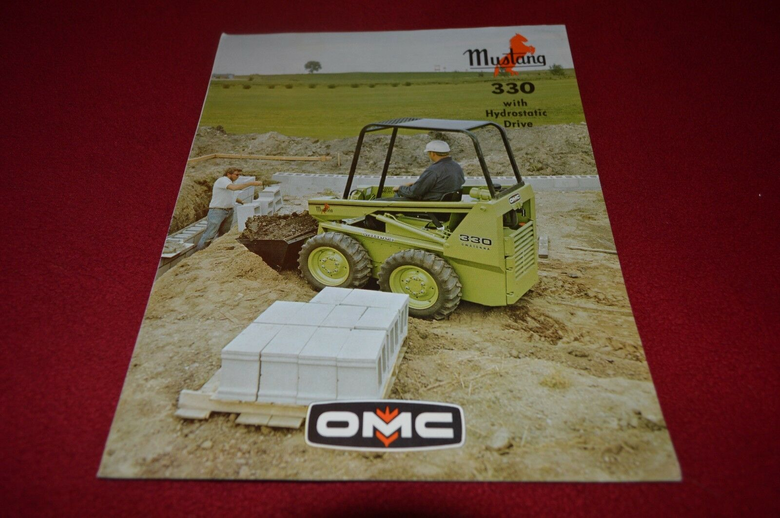 Owatonna Mustang 330 Skid Steer Loader Dealer's Brochure YABE11 ver2 1 of  1Only 1 available ...