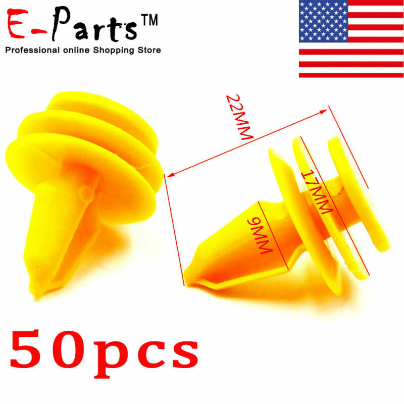 50pcs Nylon Door Panel Fastener Retainers Clips For Jeep Grand 1999 Cherokee 10 1 Of 4free Shipping See More