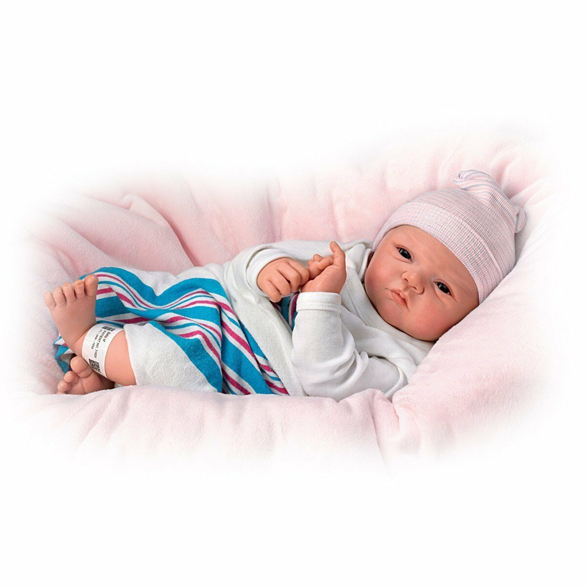 Welcome to the world baby girl doll by the ashton drake for The ashton