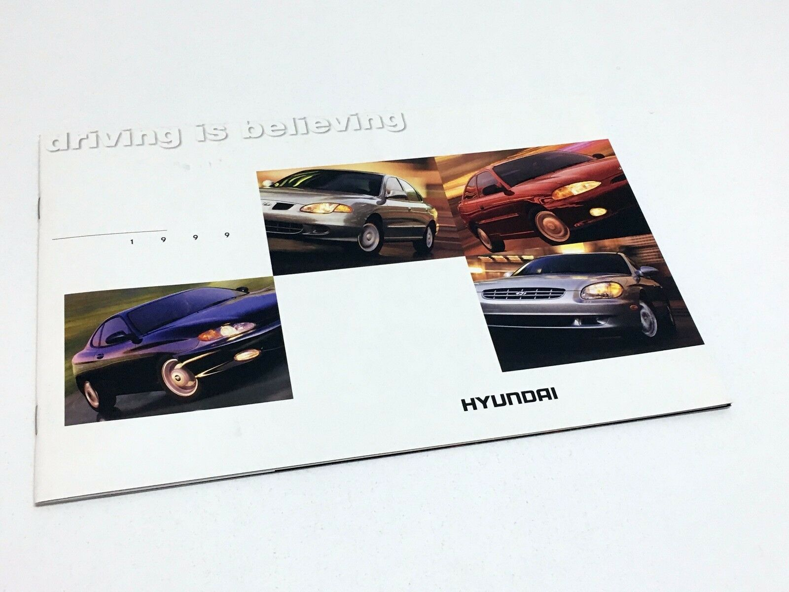 1999 Hyundai Sonata Tiburon Elantra Accent Brochure 1 of 1Only 1 available  ...
