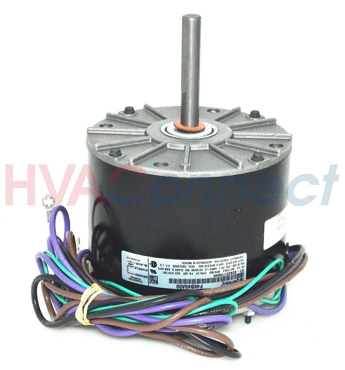 Oem Ao Smith Aosmith York Coleman Condenser Fan Motor 14 Hp 208. 1 Of 1only 4 Available. Wiring. Coleman Brcs0481bd Capacitor Wire Diagram At Scoala.co