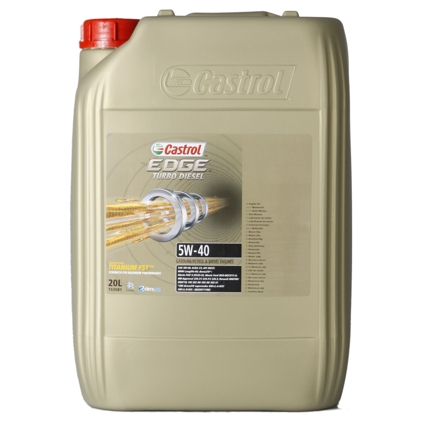 castrol edge titanium fst turbo diesel 5w 40 20 litre. Black Bedroom Furniture Sets. Home Design Ideas