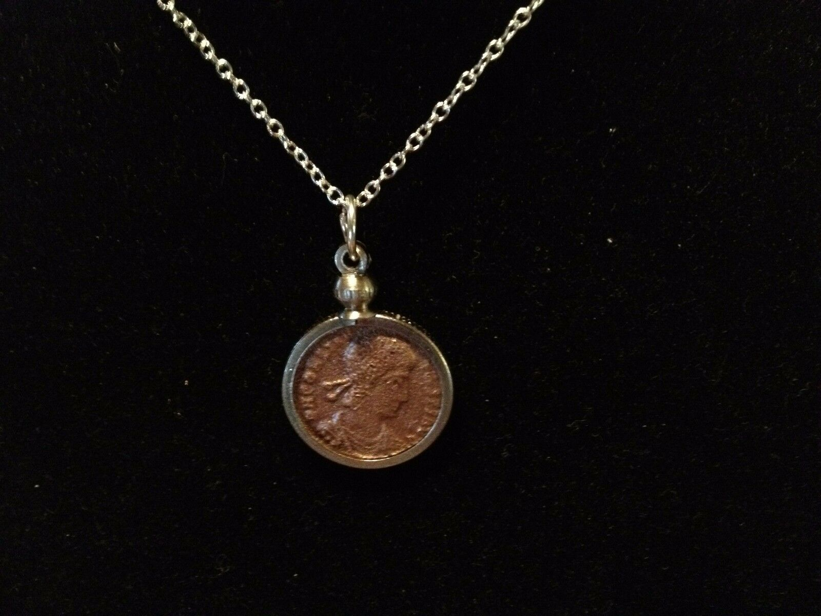 necklace roman coins coin medallion rider