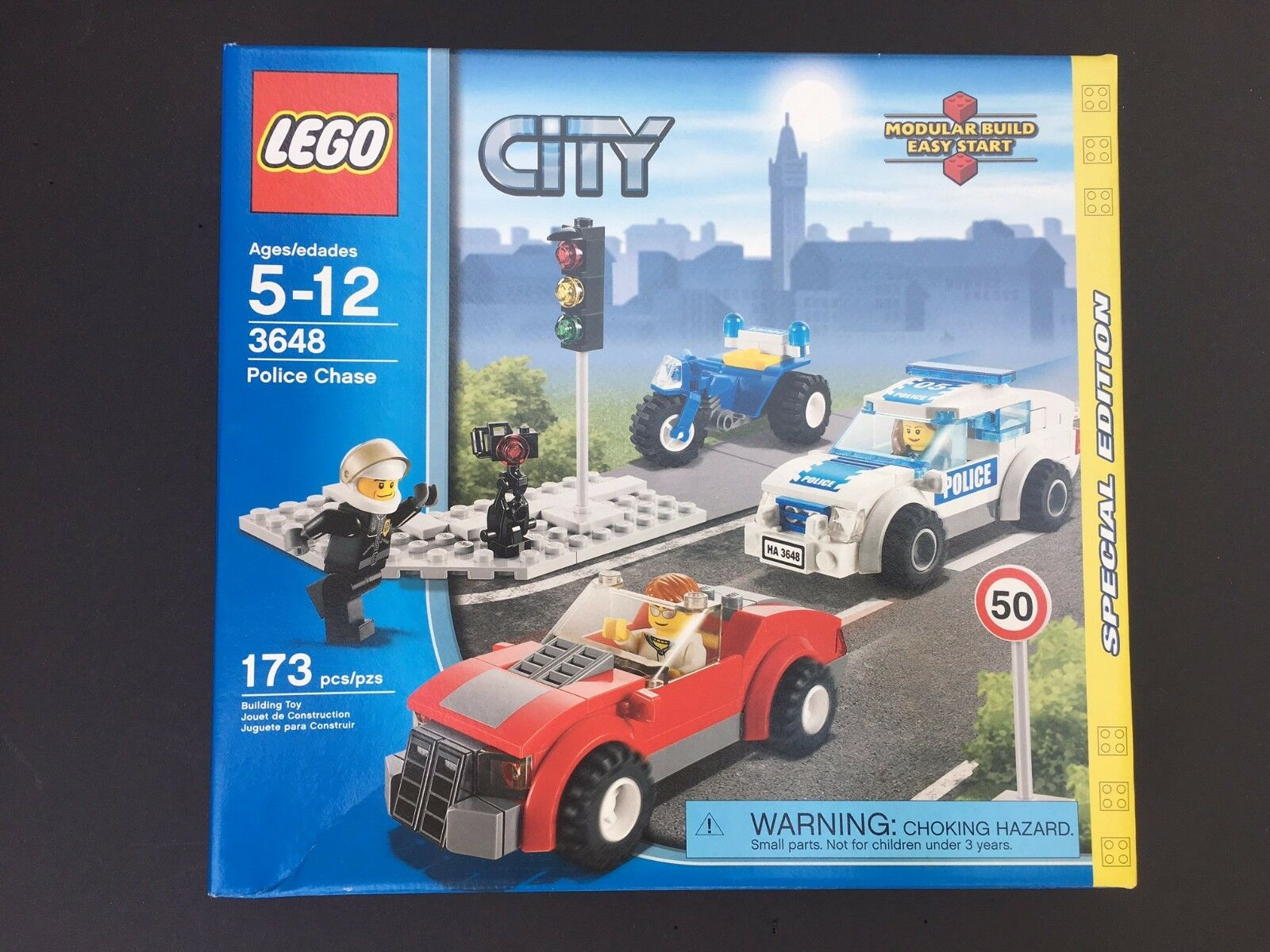 Lego City Police Chase 3648 Special Edition New 4799 Picclick 10720 Juniors Helicopter 1 Of 3only Available
