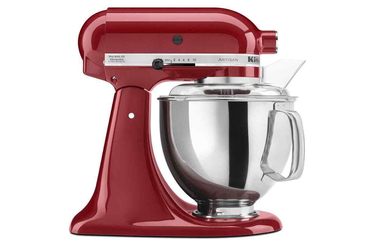 kitchenaid ksm150 artisan stand mixer empire red 5ksm150psaer picclick au. Black Bedroom Furniture Sets. Home Design Ideas