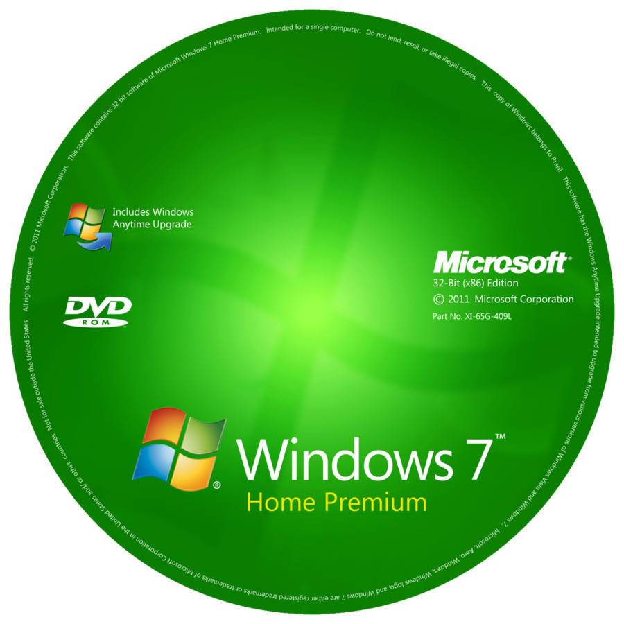 WINDOWS 7 Home premium 32-Bit Installation & Format HDD ...