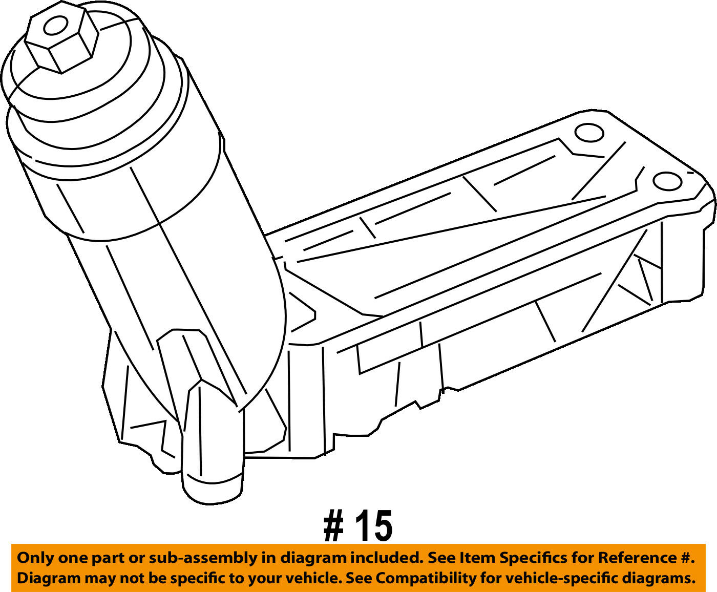 Chrysler Oem Engine Oil Filter Housing 5184294ae 19299 Picclick 2005 3 8 V6 Diagram 1 Of 2only 5 Available