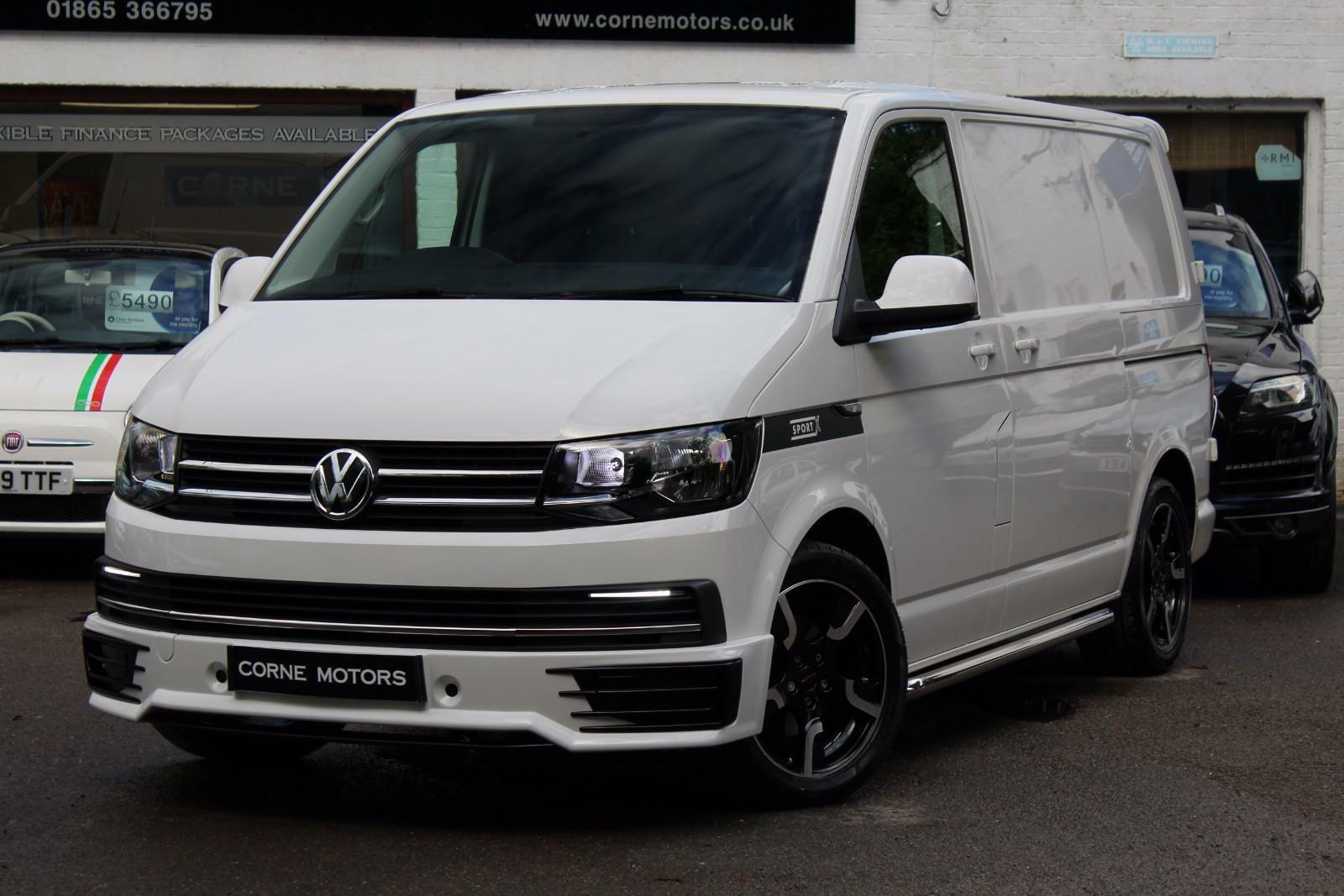 2016 volkswagen transporter t6 sport x 2 0 tdi bmt sportline look swb panel van 19. Black Bedroom Furniture Sets. Home Design Ideas