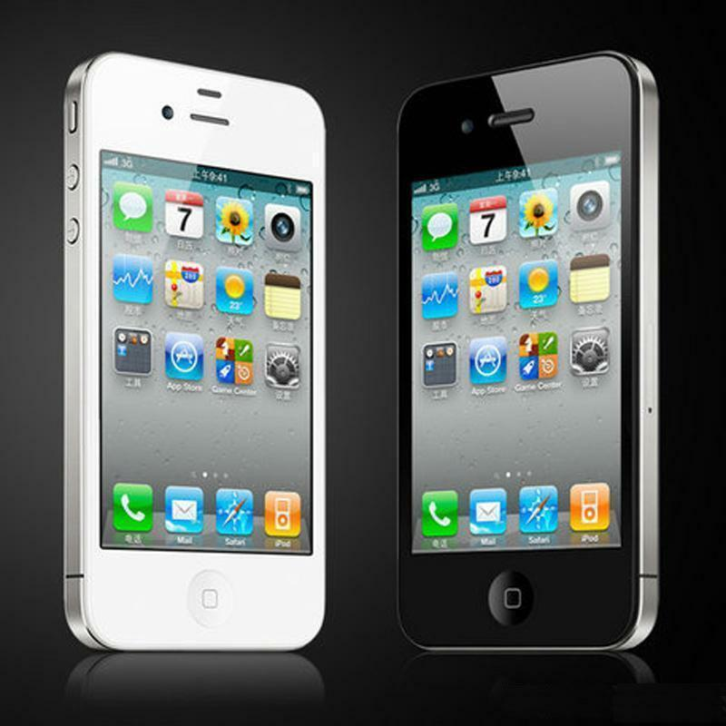 iphone 4s 16gb 32gb 8gb 64gb schwarz weiss. Black Bedroom Furniture Sets. Home Design Ideas