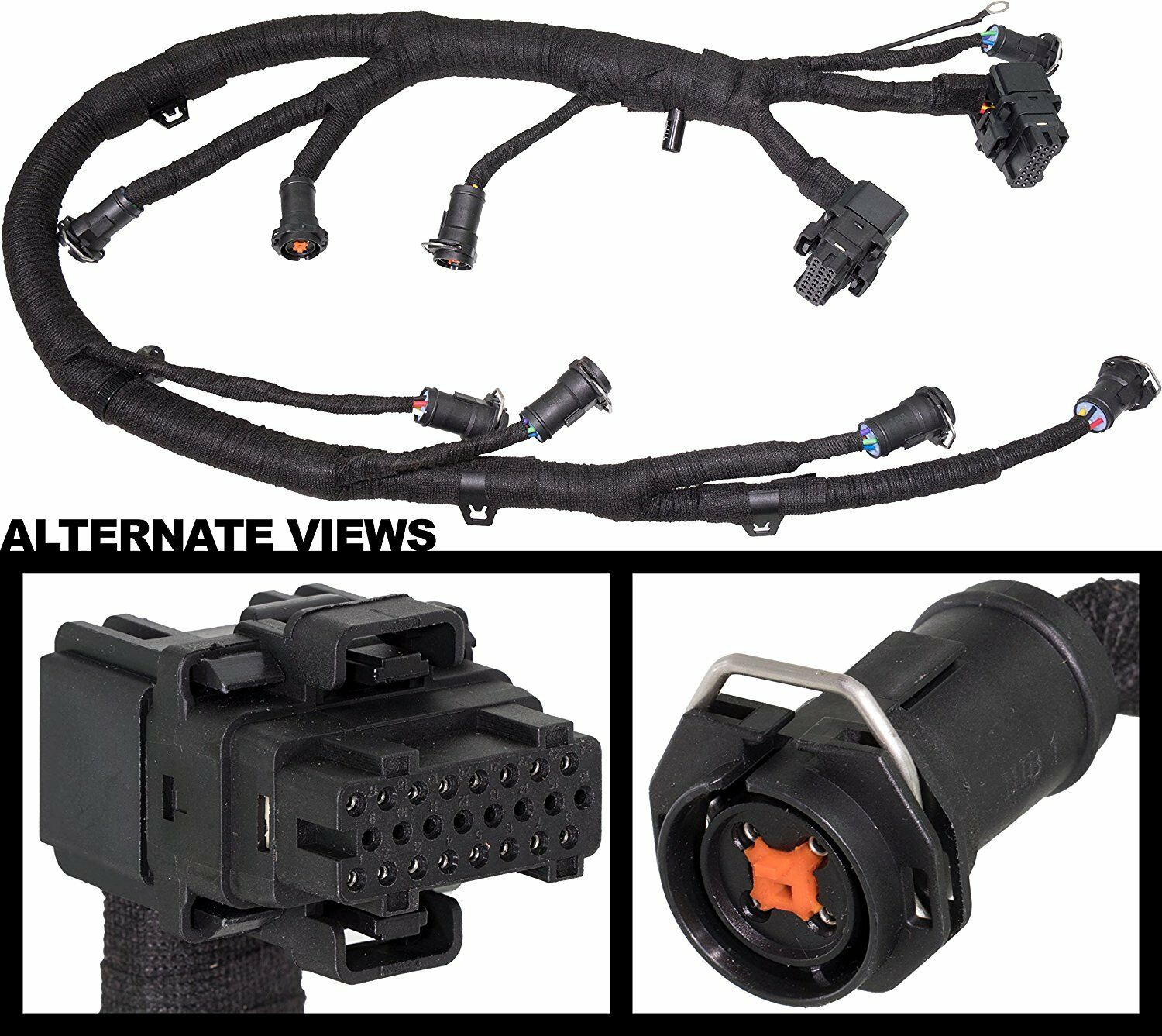 Fuel Injector FICM Wiring Harness for 03-07 6.0L Ford Diesel Powerstroke  250 350 1 of 1Only 4 available ...
