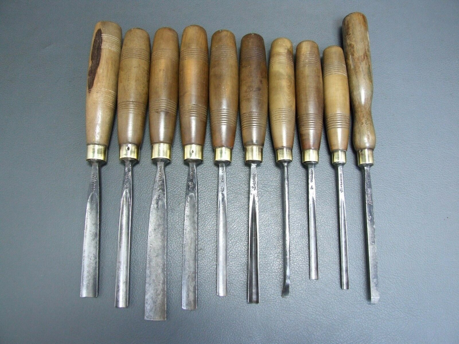 ... chisels & gouges old tools by S J Addis • £99.99 - PicClick UK