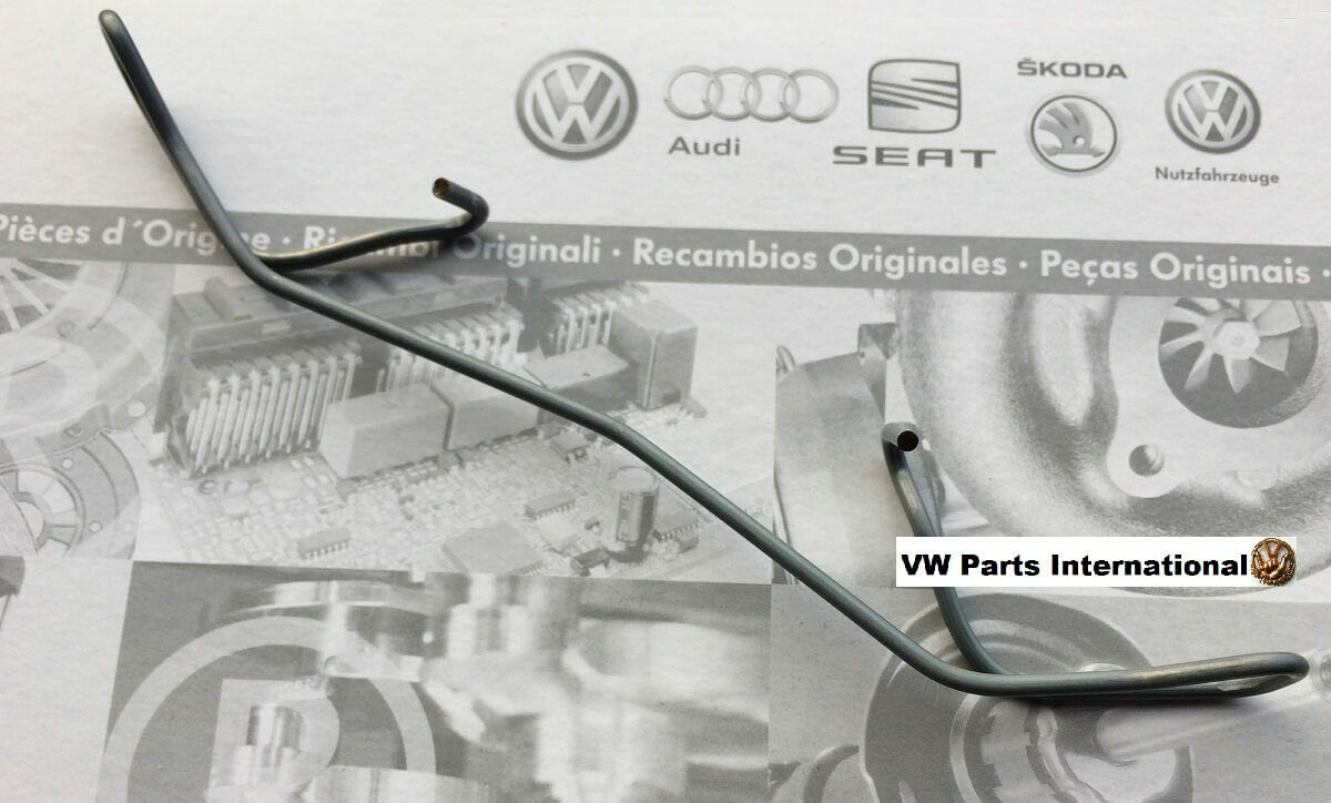 Vw Touran Rear Brake Pad Caliper Retaining Spring Clip Rattle Wobble Wiring Harness Retainer Clips 1 Of 2only 2 Available