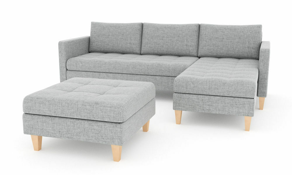 garnitur oslo ecksofa pouf mit schlaffunktion eckcouch mit bettkasten eur 299 00 picclick de. Black Bedroom Furniture Sets. Home Design Ideas