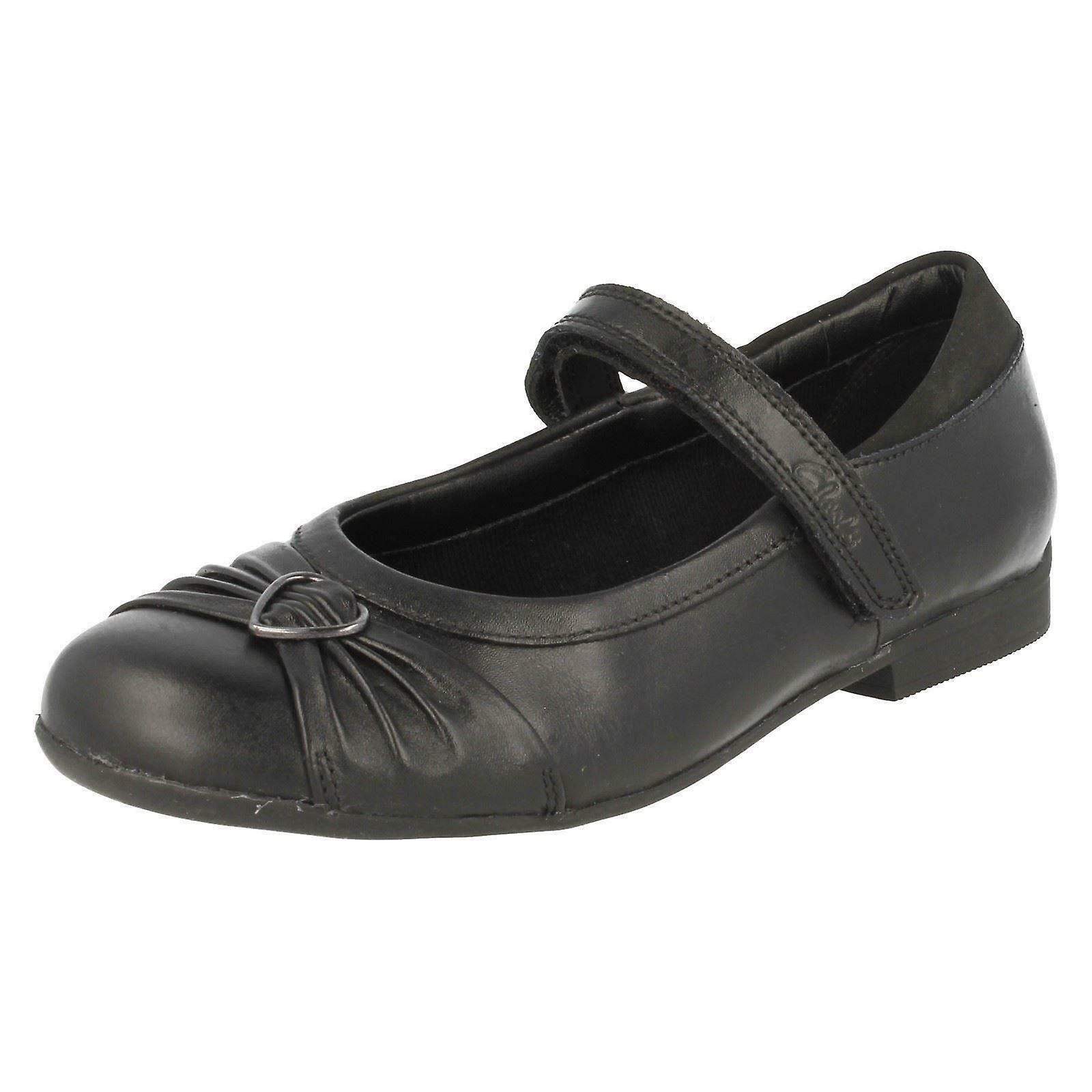 Black Mary Jane Dolly Shoes