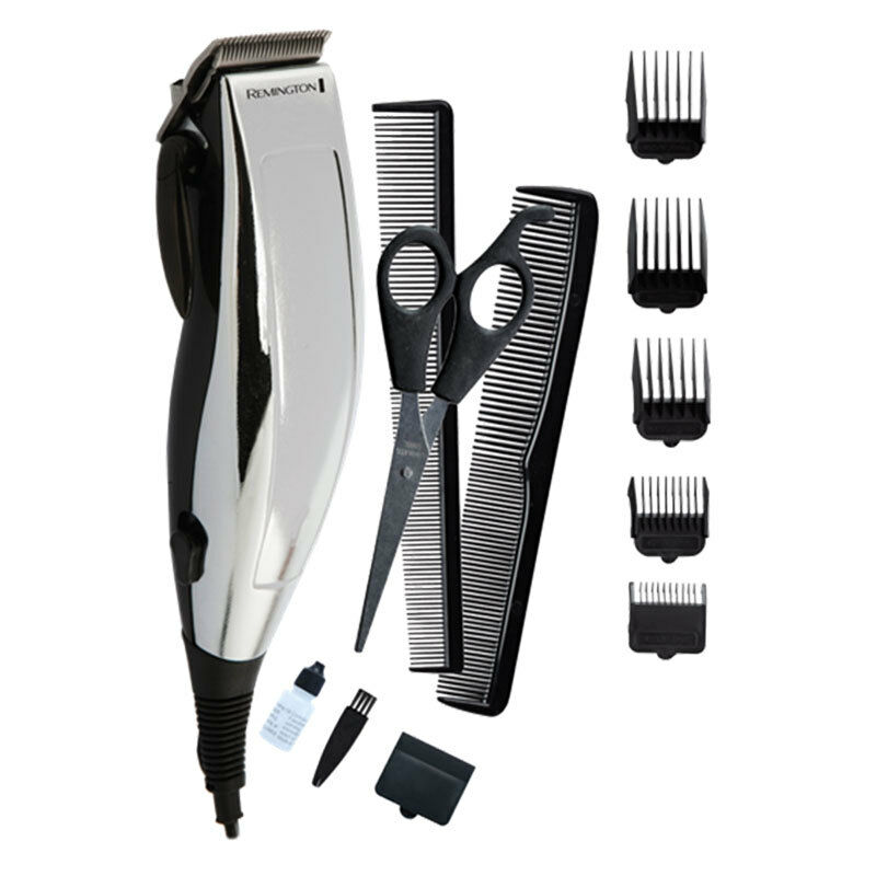 Remington 12 Piece Personal Haircut Kit Hc70a Stainless Steel Self