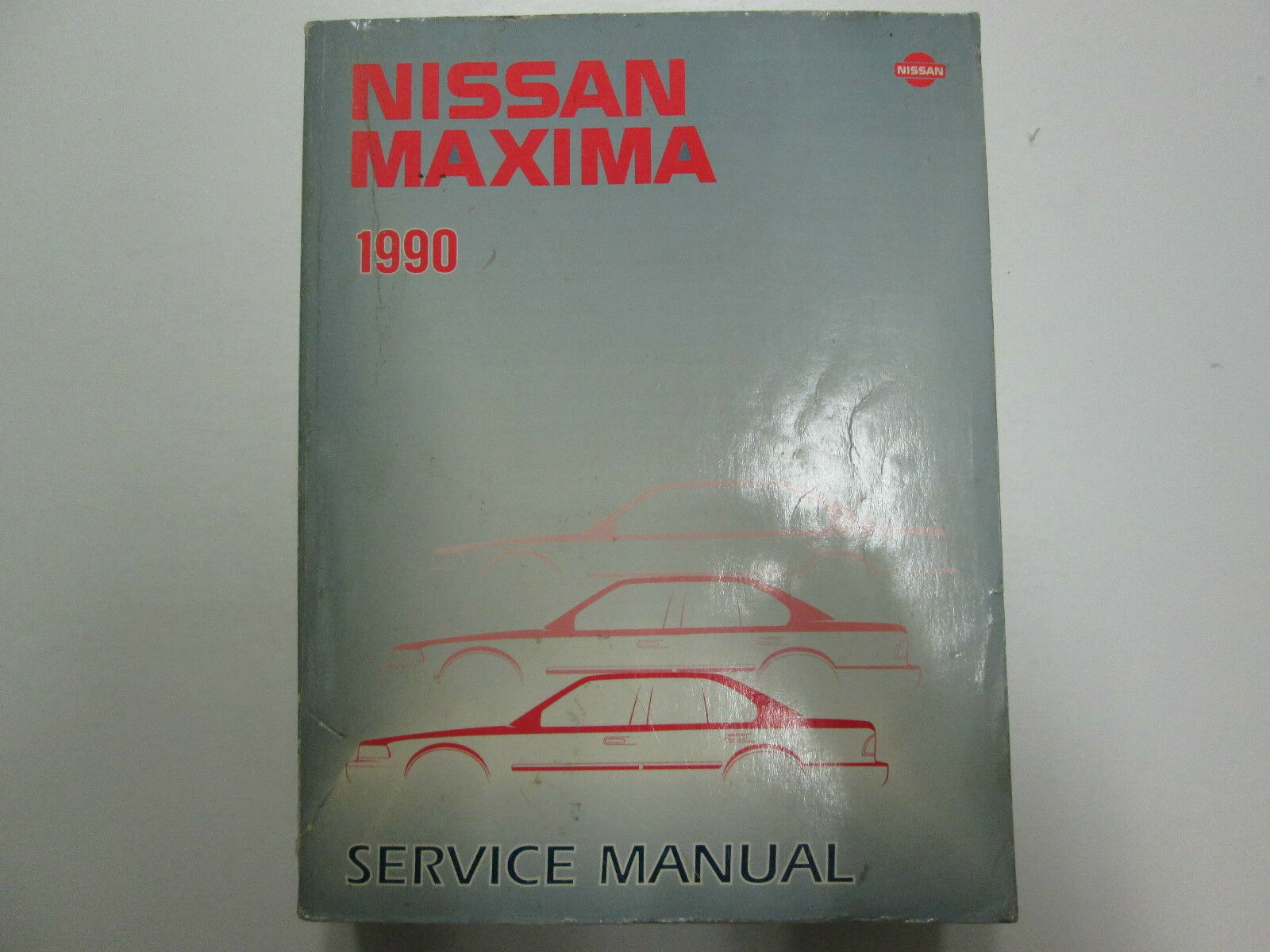 1990 Nissan Maxima Service Repair Shop Workshop Manual Factory OEM 90 1 of  9Only 1 available ...