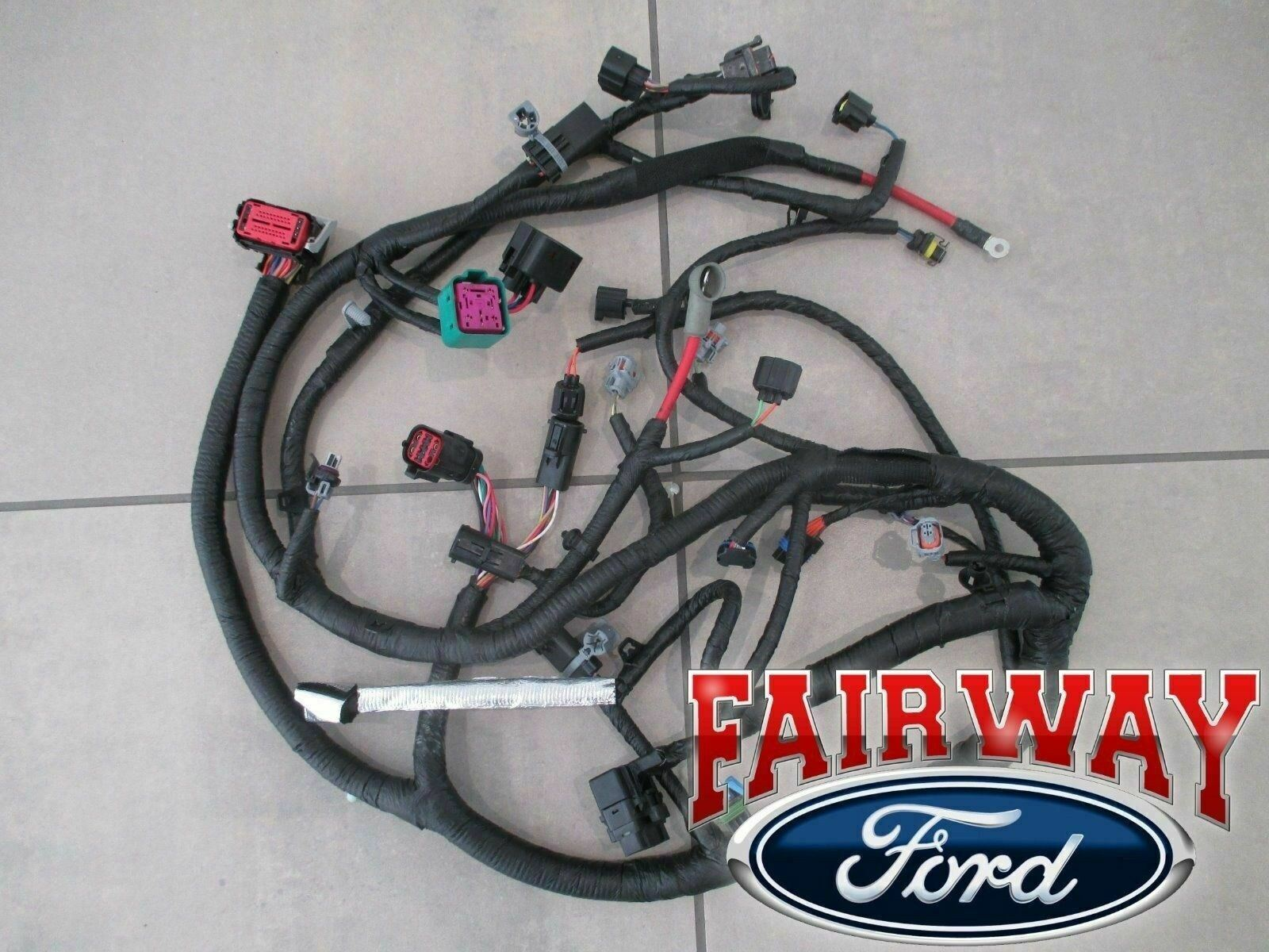 04 Super Duty Oem Ford Engine Wiring Harness 60l 9 23 03 Later W A 1 Of 6only 5 Available See More