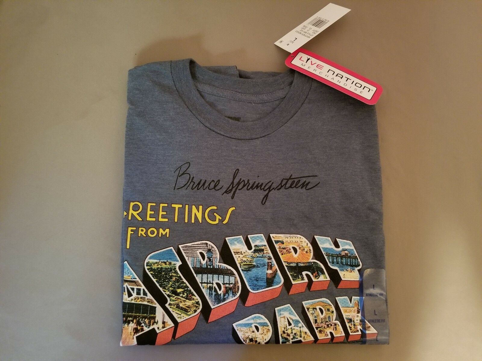 New Bruce Springsteen Greetings From Asbury Park T Shirt Live