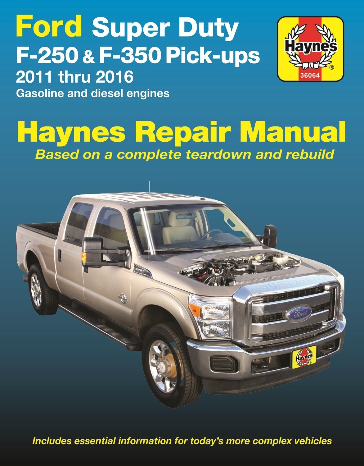 2011-2016 Ford Super Duty F250 F350 Gas Diesel Repair Service Shop Manual  922569 1 of 1FREE Shipping See More