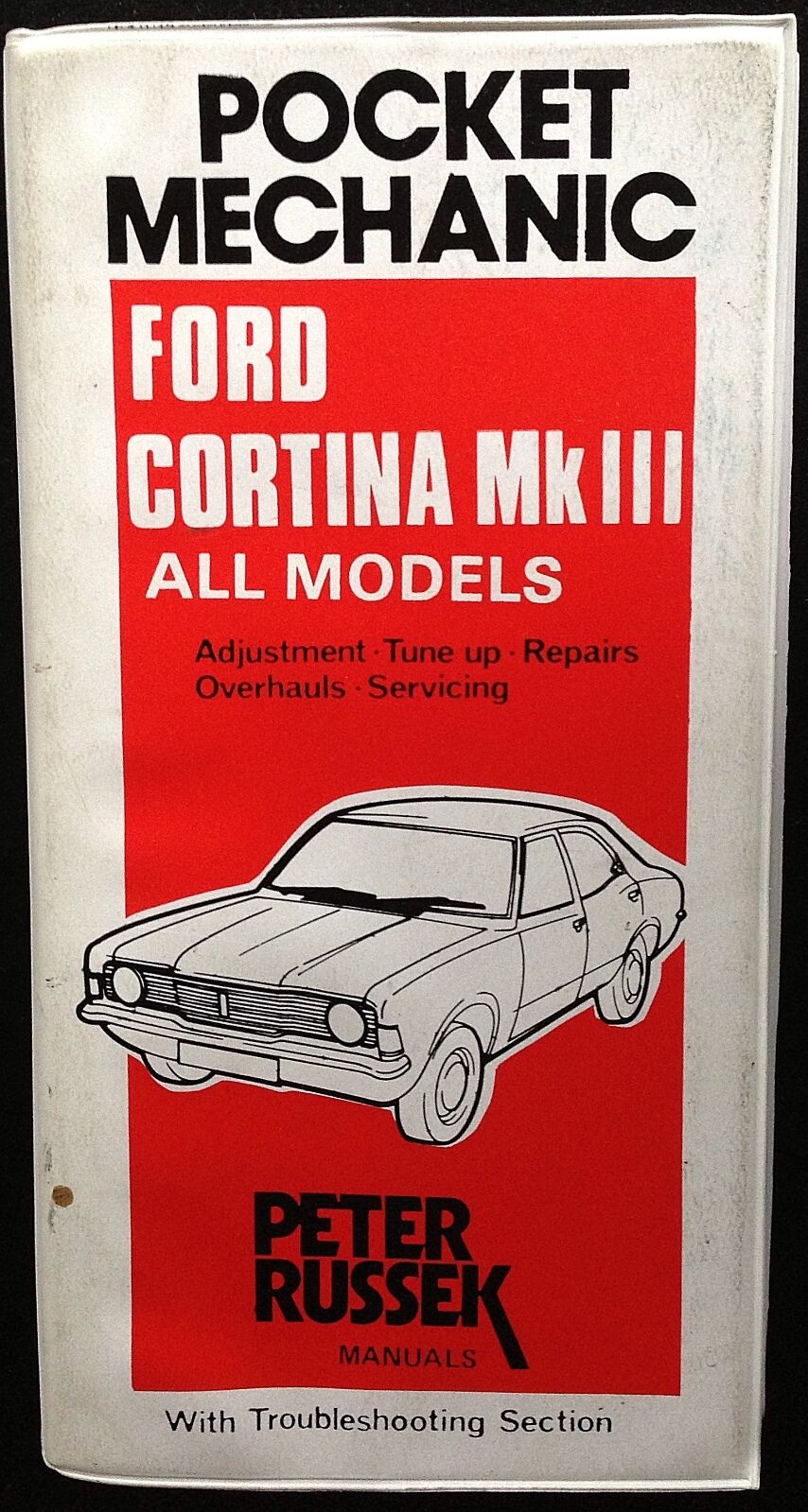 1970 1971 1972 1973 FORD CORTINA MKIII MK3 REPAIR MANUAL by PETER RUSSEK 1  of 2Only 1 available See More