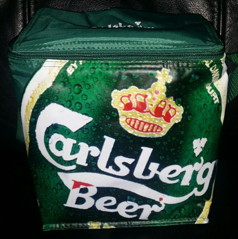 Rare Collectable Carlsberg Beer 6 Pack Cooler Bag Brand New Never Used