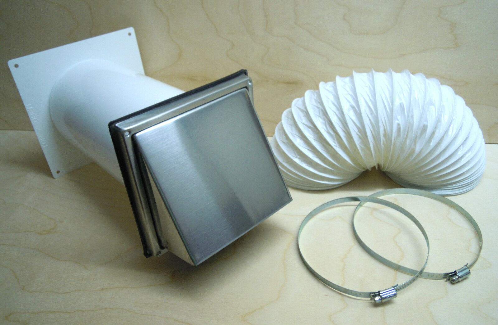 TELESCOPIC WALL box NW150 Stainless steel Ventilation hood +1m ...