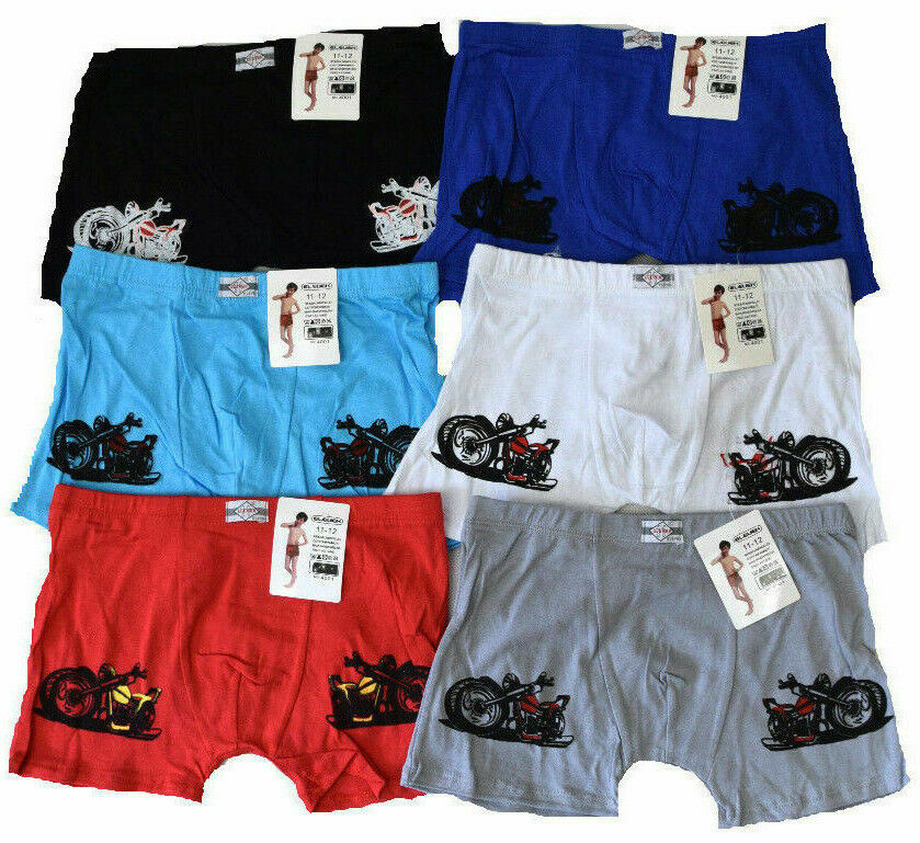 kinder boxershorts neu jungen boxershorts motorrad. Black Bedroom Furniture Sets. Home Design Ideas