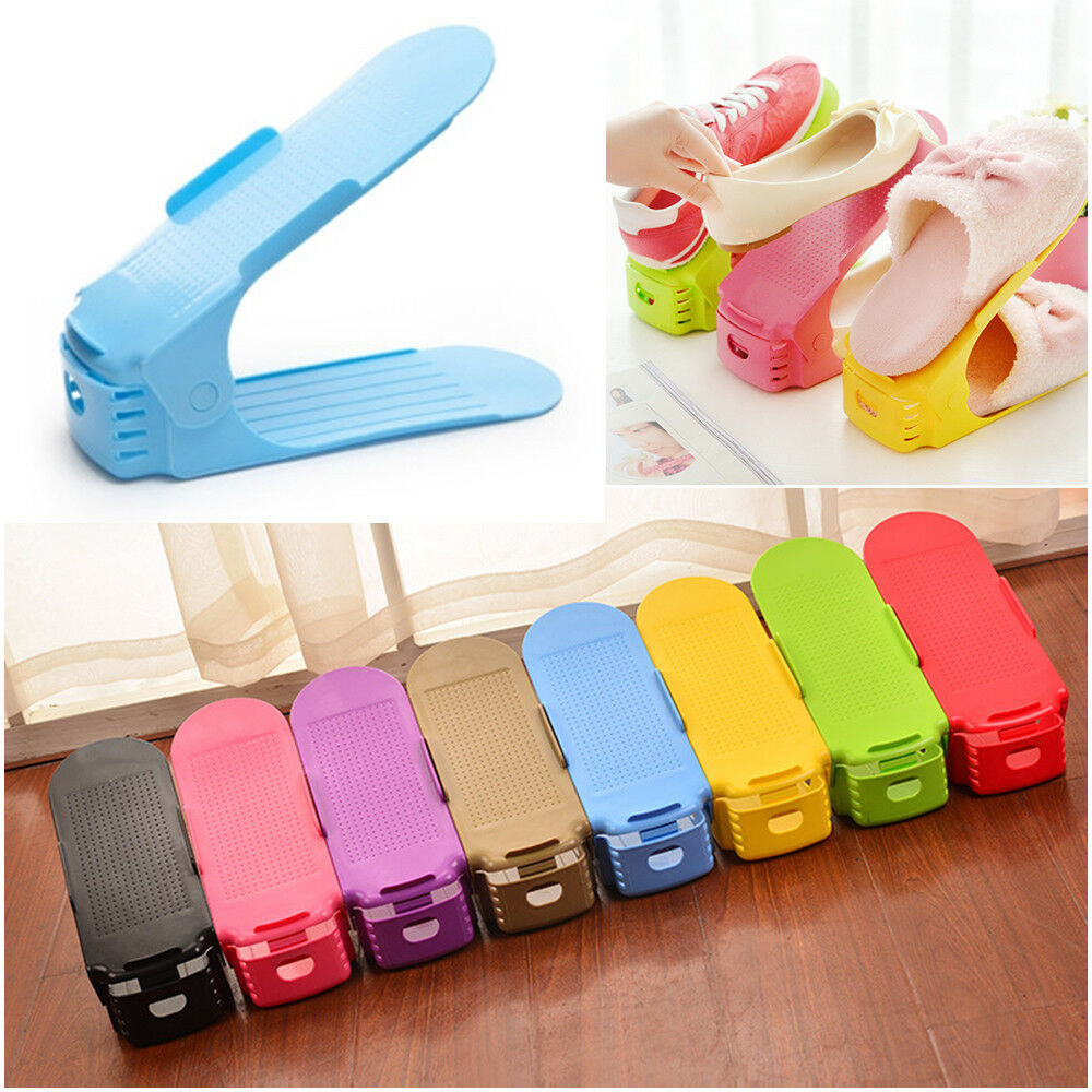 Creative Plastic Shoes Rack Organizer Space Saving