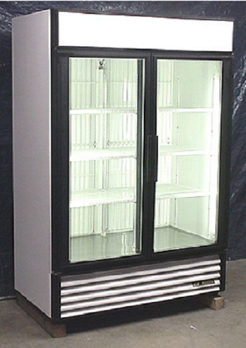 Used True Two Glass Door Freezer Merchandiser 1 Of 3