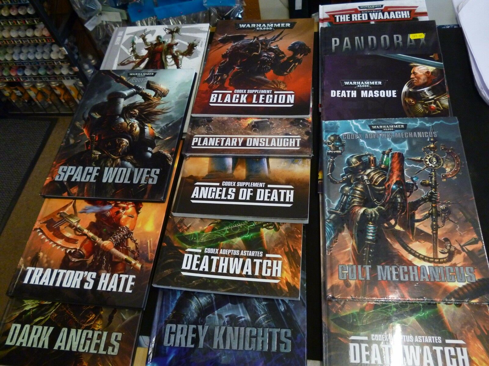 WARHAMMER /40K CODEXES and related 40000 Books. Various ...