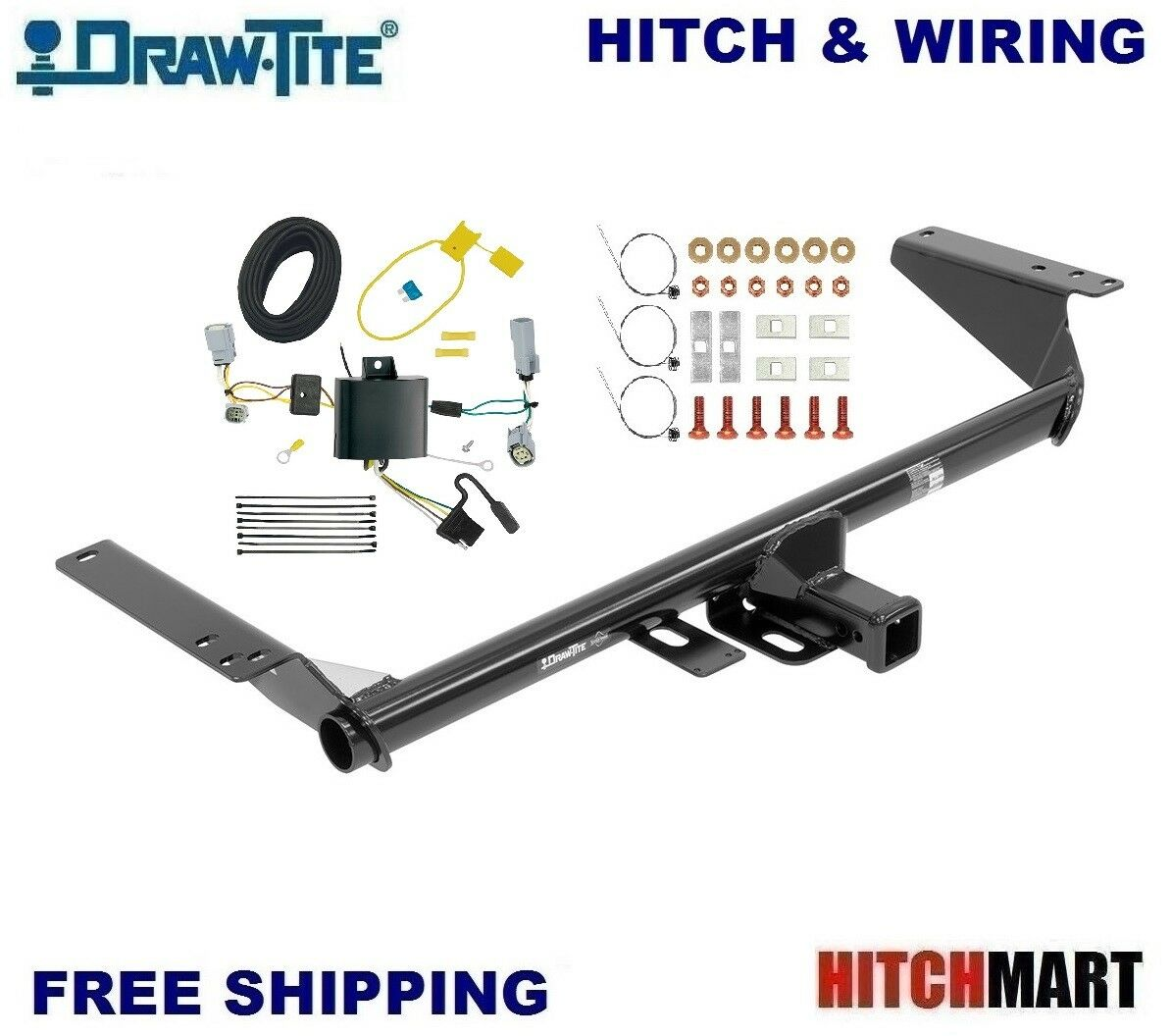 Class 3 Trailer Hitch Wiring For 2017 2018 Chrysler Pacifica Lx How To Wire A 1 Of 4only 2 Available