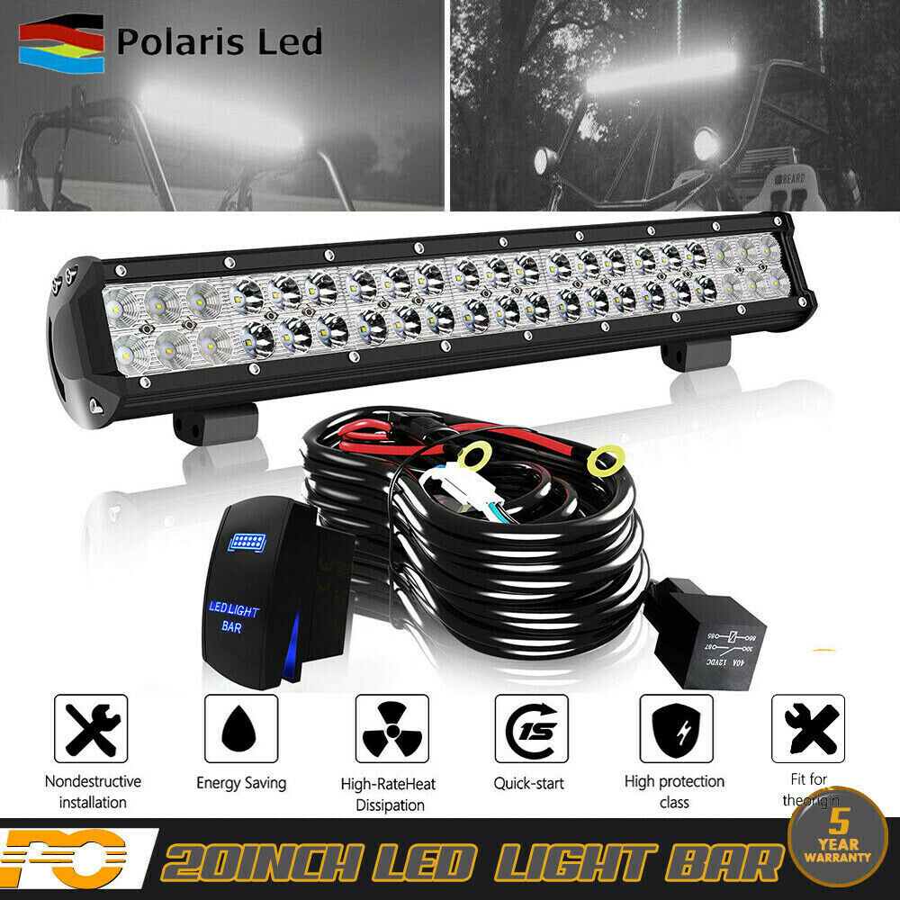 Fit Ford Truck Suv 4x4 Pick 20inch Led Light Bull Bar Wiring Picing Harness Kits Kit 1 Of 5only 3 Available See More