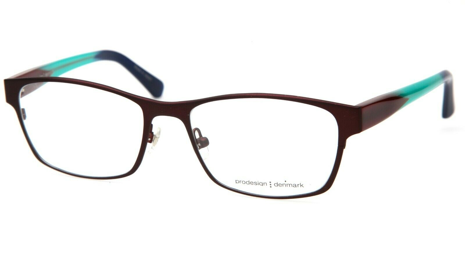 NEW PRODESIGN DENMARK 1721 c.5032 BROWN EYEGLASSES FRAME 48-19-140 ...