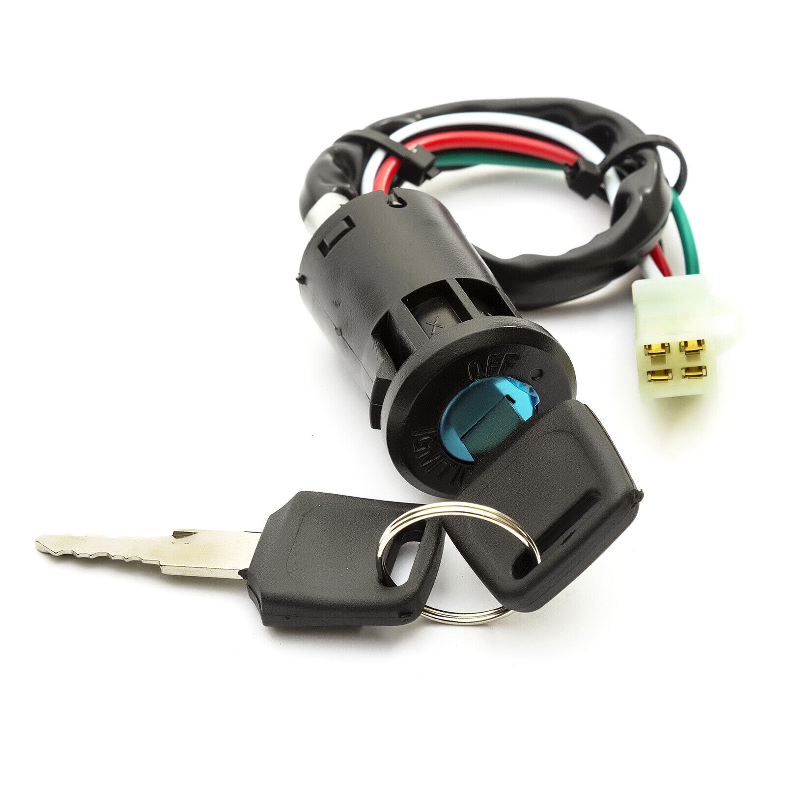 110cc 125cc 140cc Pit Dirt Quad Bike Key Stop Switch Ignition Kill 4 Wiring Loom Harness For 50cc 125 140 150 160cc Pin On Off 1 Of 6free Shipping