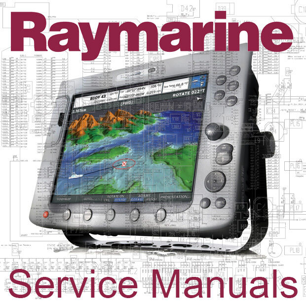 Raymarine raytheon autohelm service manual e120 e80 c80 c120 st40 1 of 1free shipping fandeluxe Images