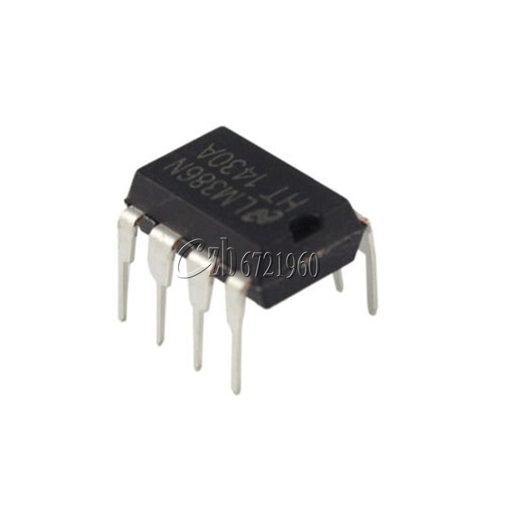 50pcs Lm386 Lm386n Dip 8 Audio Power Amplifier Ic 210 Picclick Low Voltage 1 Of See More