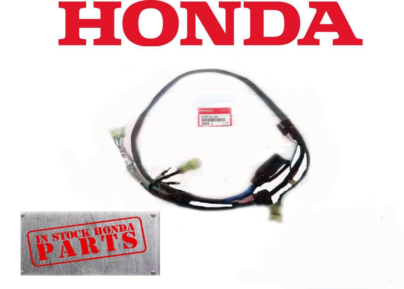 New Genuine Honda 1999 - 2004 Trx400Ex Trx 400 Ex Oem Factory Wire Harness  1 of 1Only 1 available ...