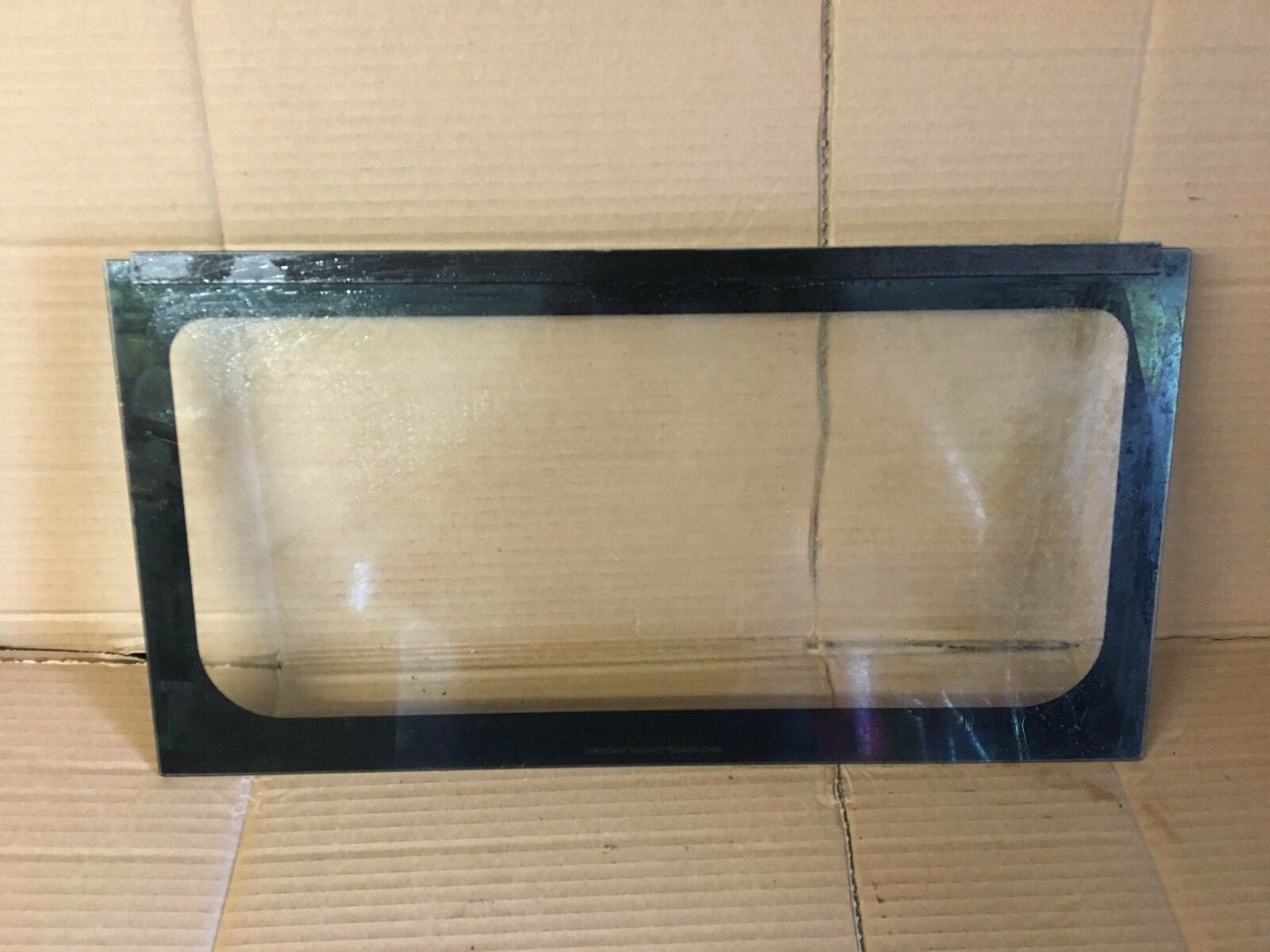 Hotpoint Cooker Oven Hud61k Hud61 Top Oven Grill Inner Door Glass 50