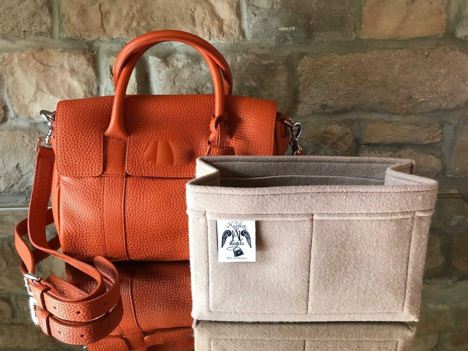 Classic Small Bayswater Satchel Insert Liner Bag Organiser By Handbag Angels Uk 1 Of 12free Shipping See More