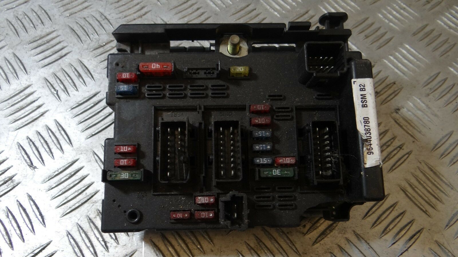 Peugeot Citroen Fusebox Delphi Bsm B2 9644038780 3599 Fuse Box 1 Of 3only Available