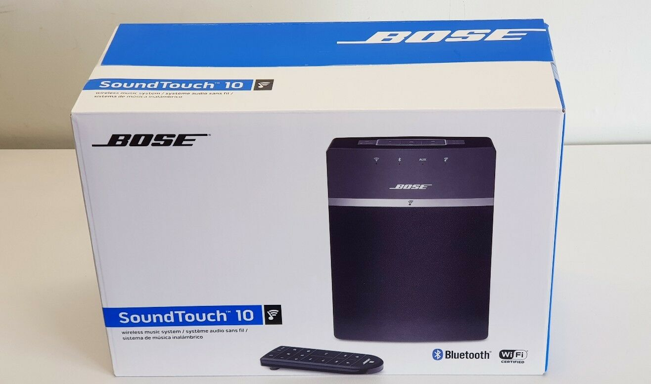 bose soundtouch 10 wireless wi fi bluetooth speaker. Black Bedroom Furniture Sets. Home Design Ideas