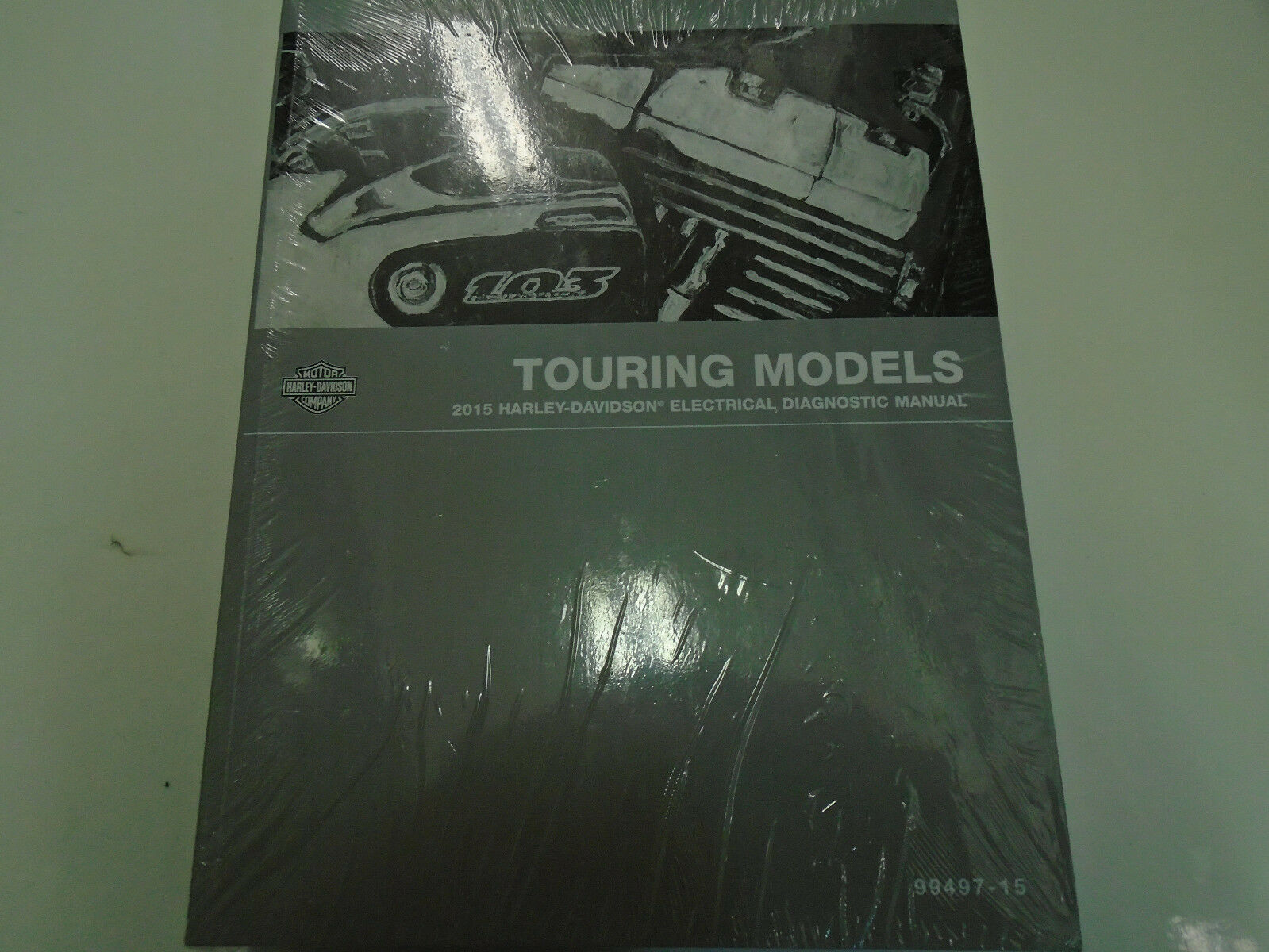 2015 Harley Davidson Touring Models Electrical Diagnostic Service Shop  Manual 1 of 3Only 2 available ...