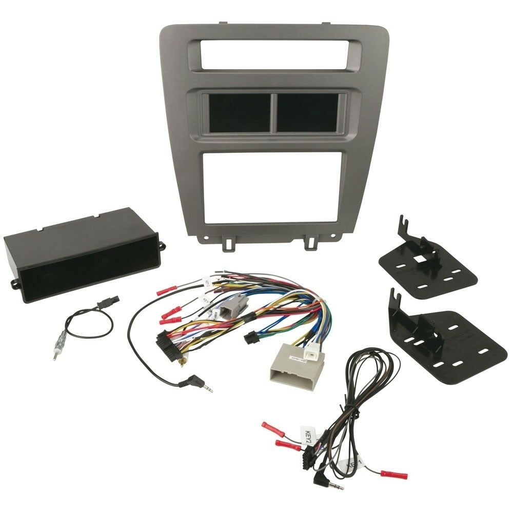 Scosche Itcfd01b Stereo Radio Dash Install Kit Double Din Ford Wiring Harness 1999 Toyota 1 Of 5only 4 Available