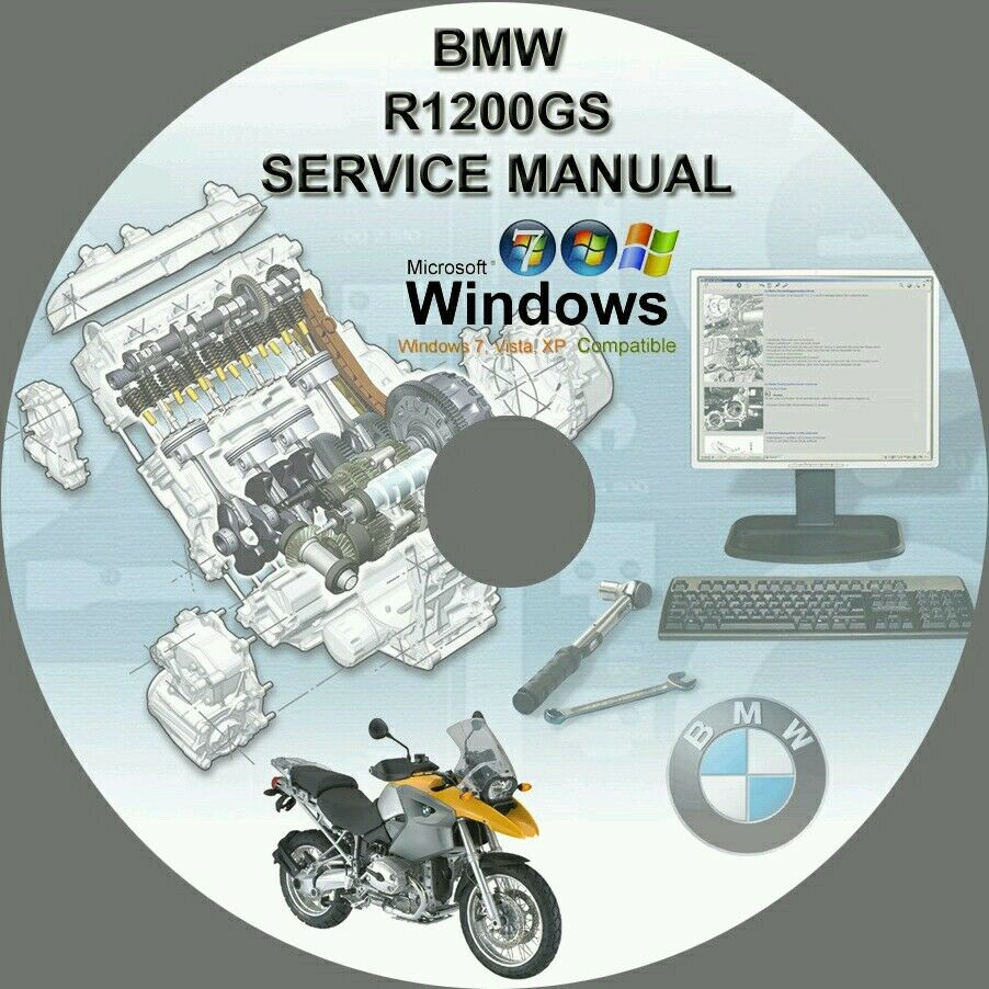 Bmw R1200Gs R1200Gs Adventure Motorcycle Service Repair Manual Dvd  2004-2011 1 of 1FREE Shipping ...
