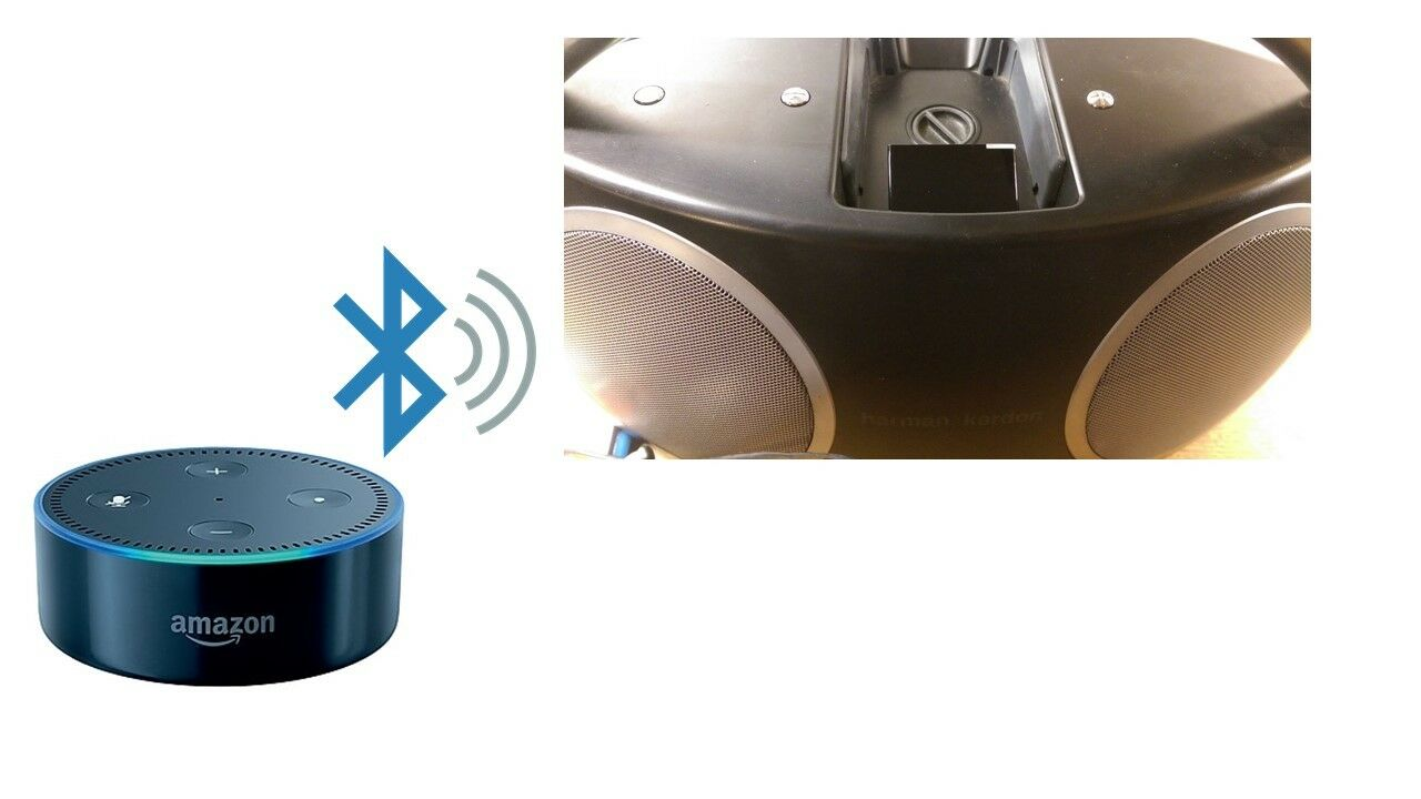 Bluetooth Adapter For Harman Kardon Go Play Speaker Dock Amazon Mini Black Alexa Echo Dot 1 Sur 1seulement 4 Disponibles