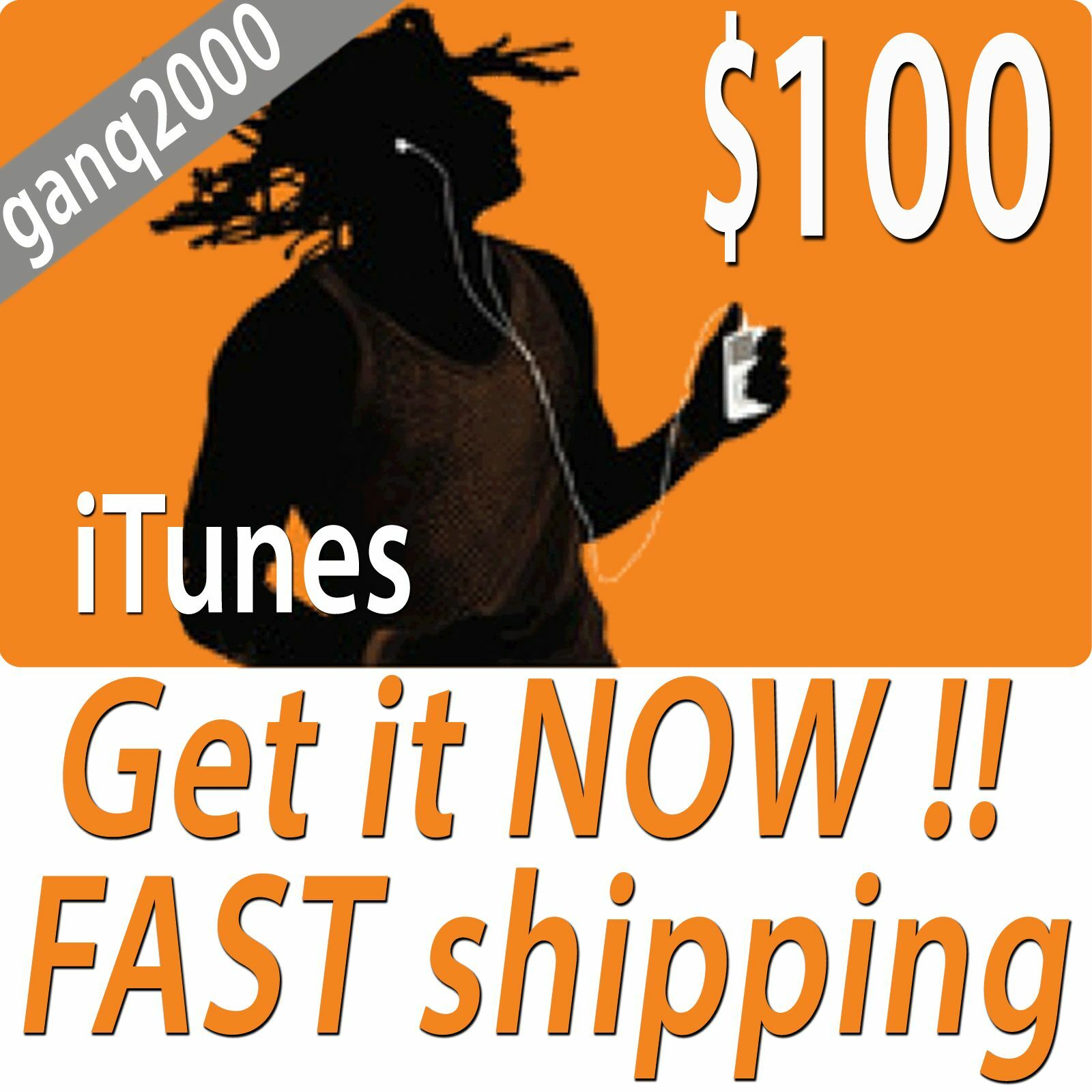 100 Apple Us Itunes Card Gift Certificate Fast Free Worldwide