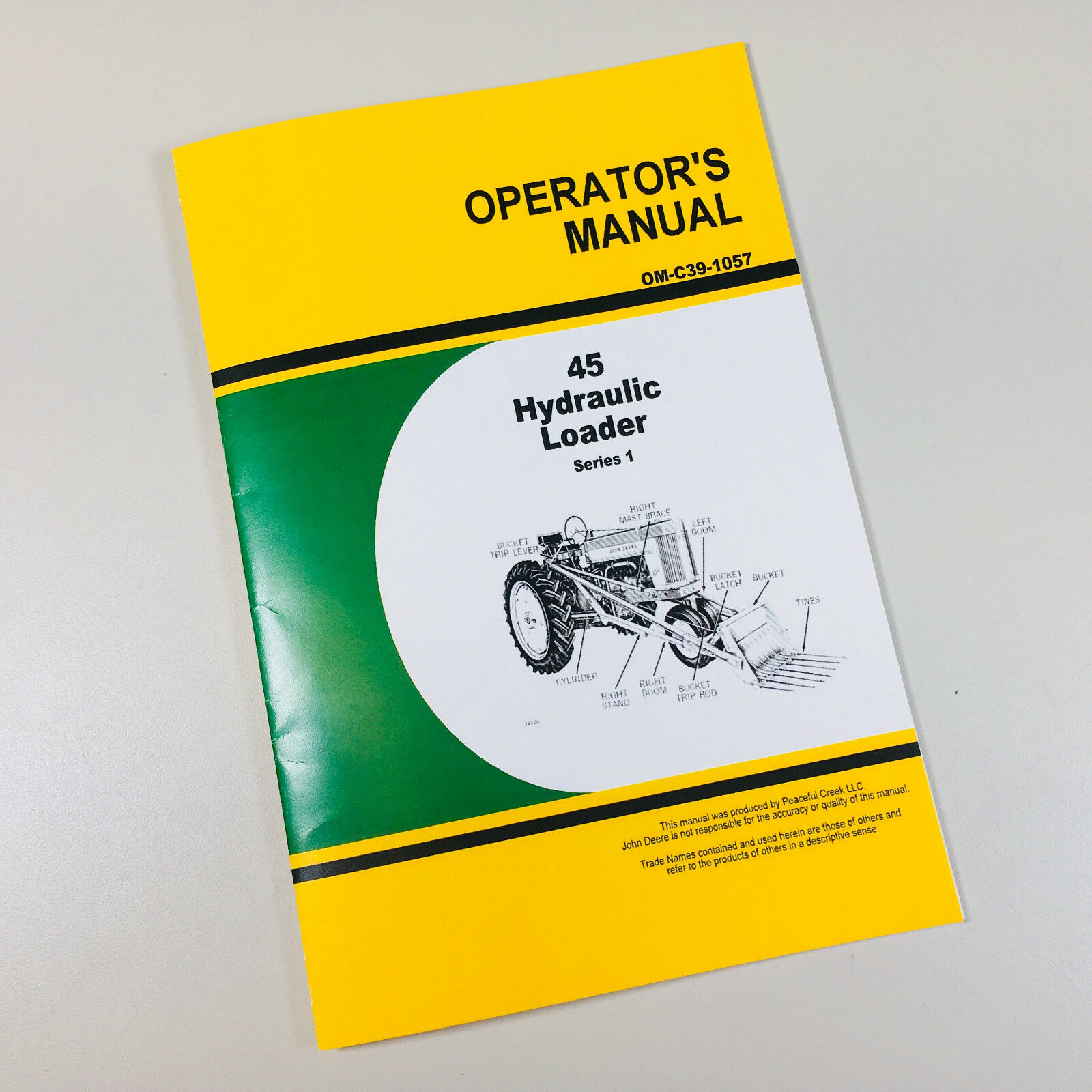 Operators Owners Manual For John Deere 45 Hydraulic Farm Loader Series 1 1  of 5Only 5 available ...