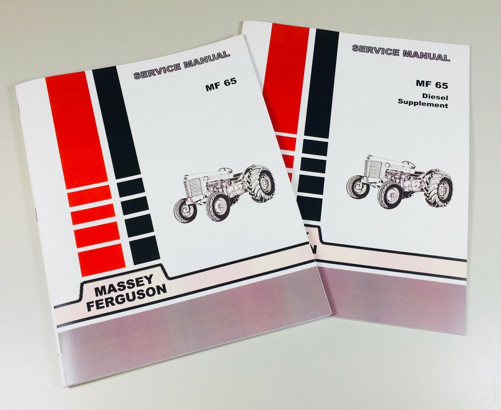 65 Massey Ferguson Diesel Tractor Technical Service Shop Repair Manual MF65  MF 1 of 9FREE Shipping See More